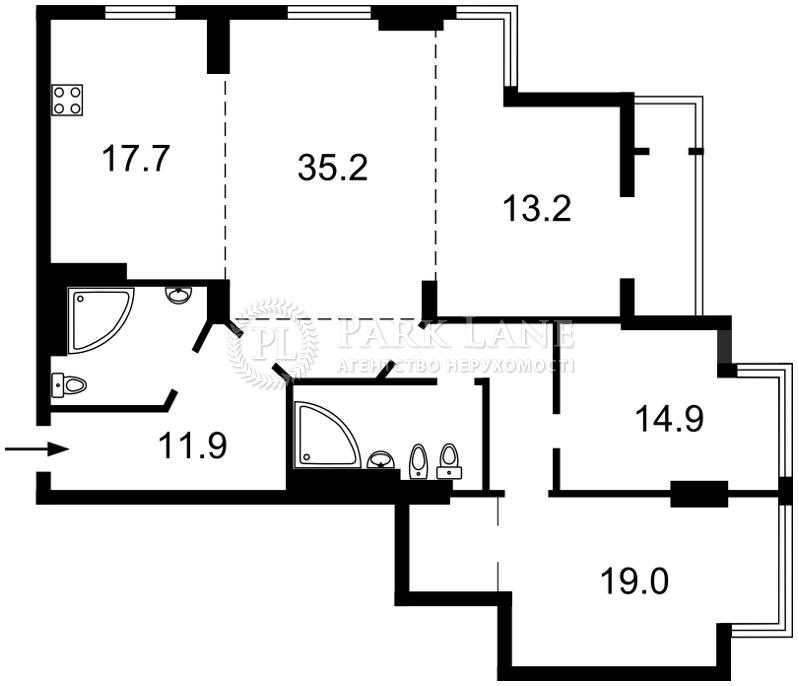 Квартира Z-1431863, Днепровская наб., 1, Киев - Фото 4