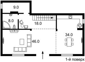 Дом X-24615, Круглик - Фото 5