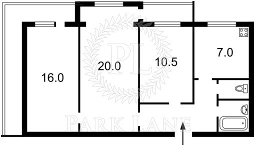 Квартира, Z-1530576, 35а