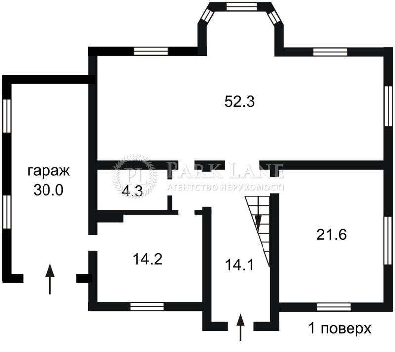 Будинок Вишеньки, X-16671 - Фото 1