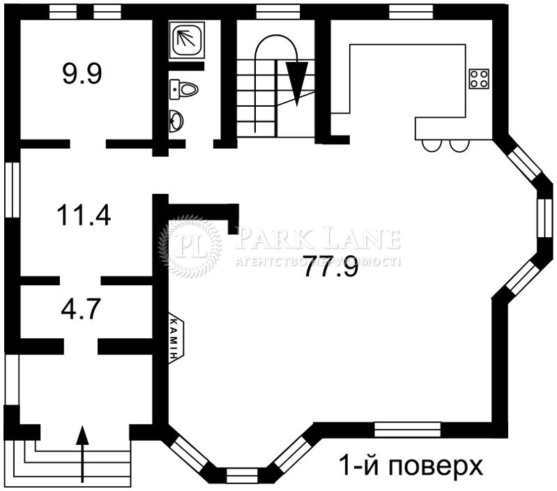 Дом ул. Рыльского Максима, Киев, Z-233764 - Фото 3