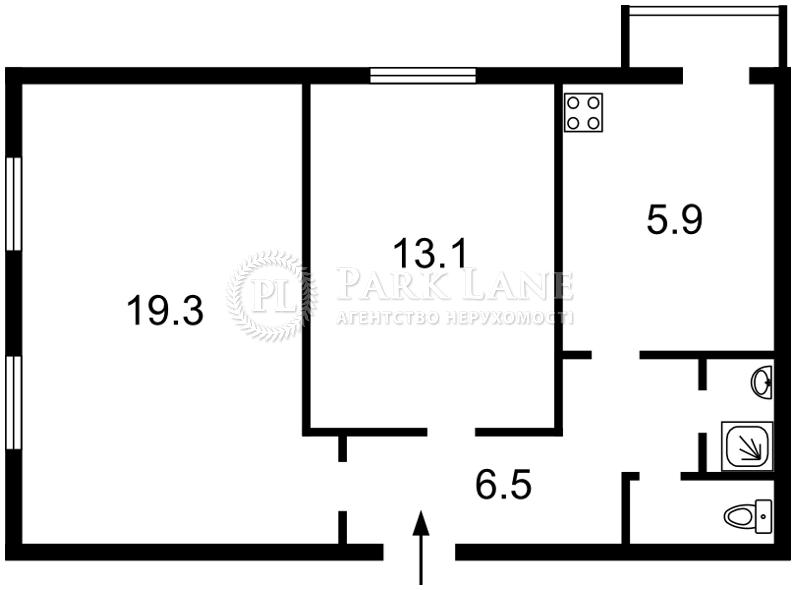 Квартира ул. Златоустовская, 46, Киев, Z-665202 - Фото 2
