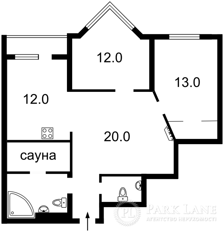 Квартира ул. Коновальца Евгения (Щорса), 32г, Киев, Z-1597585 - Фото 2