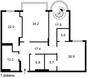 Квартира K-21701, Институтская, 18а, Киев - Фото 4