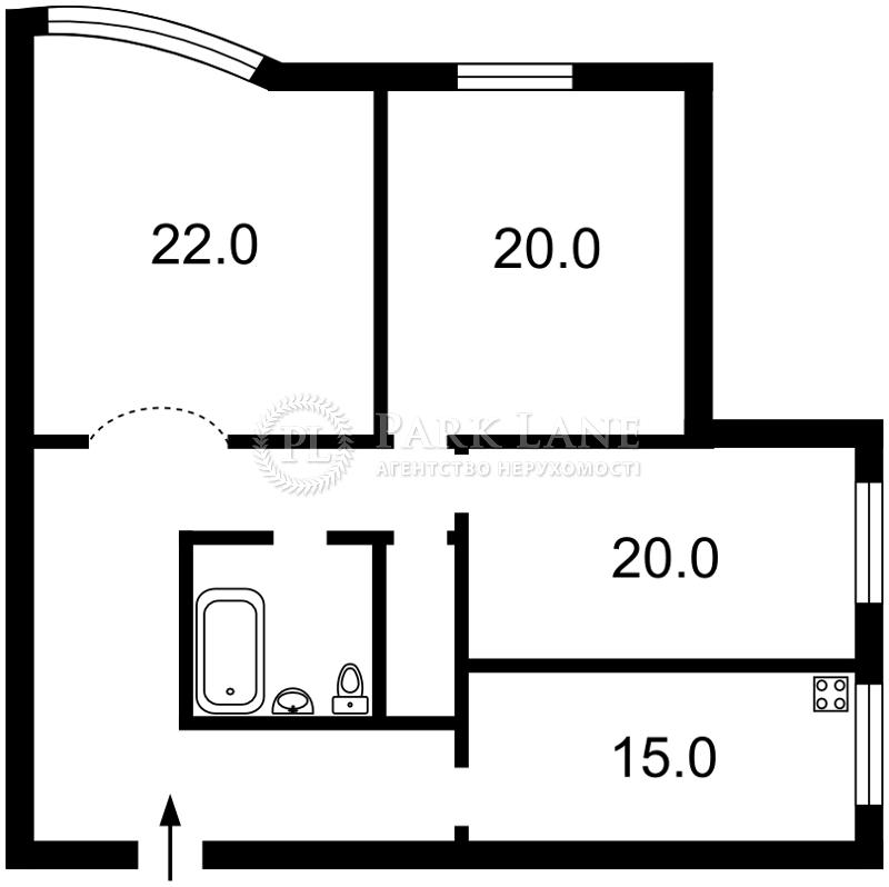 Квартира Академика Палладина просп., 20, Киев, X-24478 - Фото 2