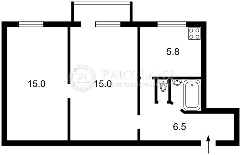 Квартира Кловский спуск, 12, Киев, H-5426 - Фото 2