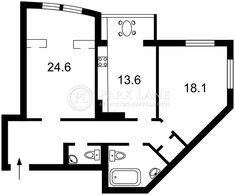 Квартира ул. Голосеевская, 13а, Киев, X-26493 - Фото 2