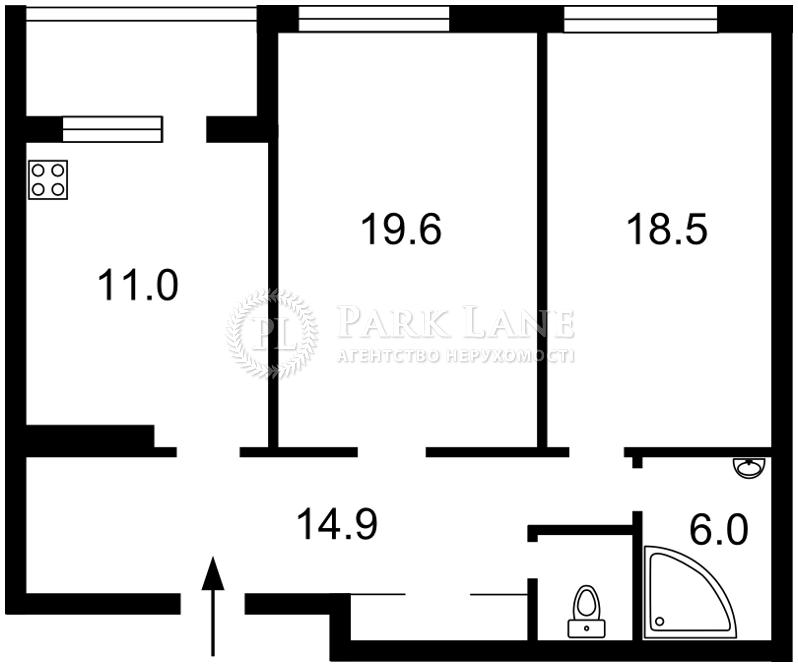Квартира ул. Туманяна Ованеса, 3, Киев, X-3831 - Фото 2
