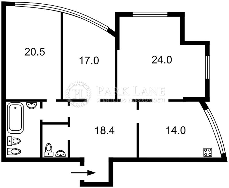 Квартира H-32914, Героев Сталинграда просп., 8а, Киев - Фото 3