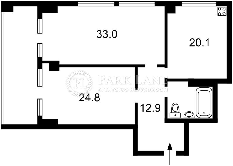 Квартира ул. Антоновича (Горького), 72, Киев, M-10265 - Фото 2