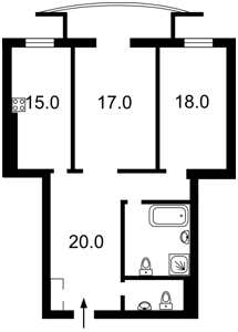 Квартира X-22734, Старонаводницкая, 6б, Киев - Фото 6