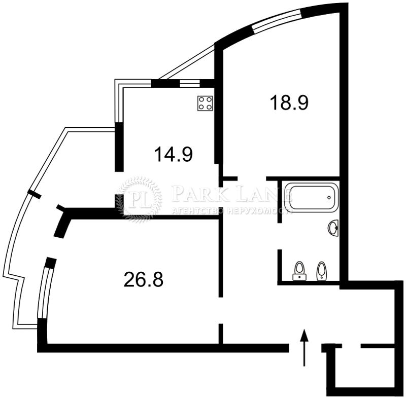 Квартира Леси Украинки бульв., 7б, Киев, K-21892 - Фото 2