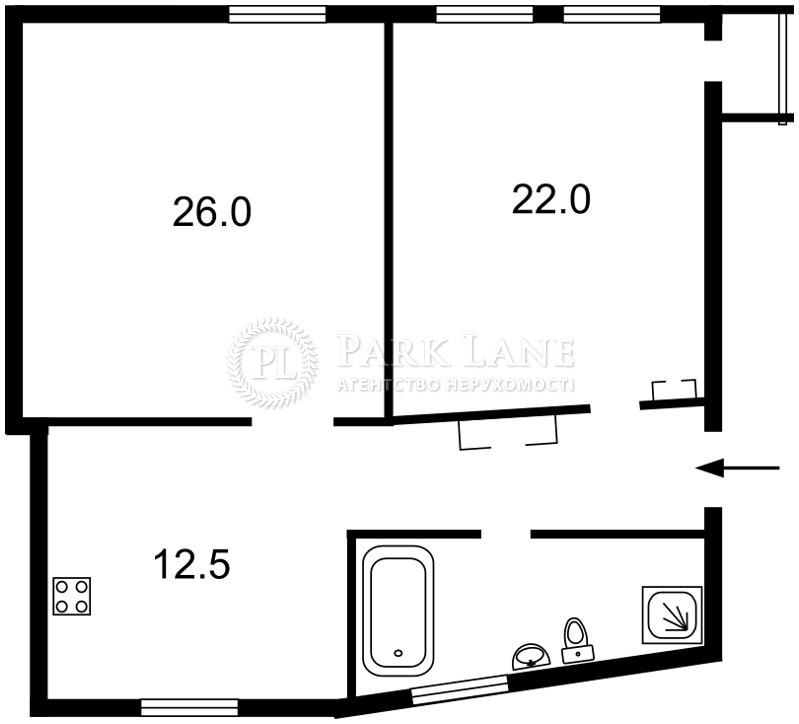 Квартира J-21502, Институтская, 24/7, Киев - Фото 5