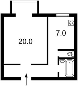 Квартира Q-1768, Крещатик, 13, Киев - Фото 2