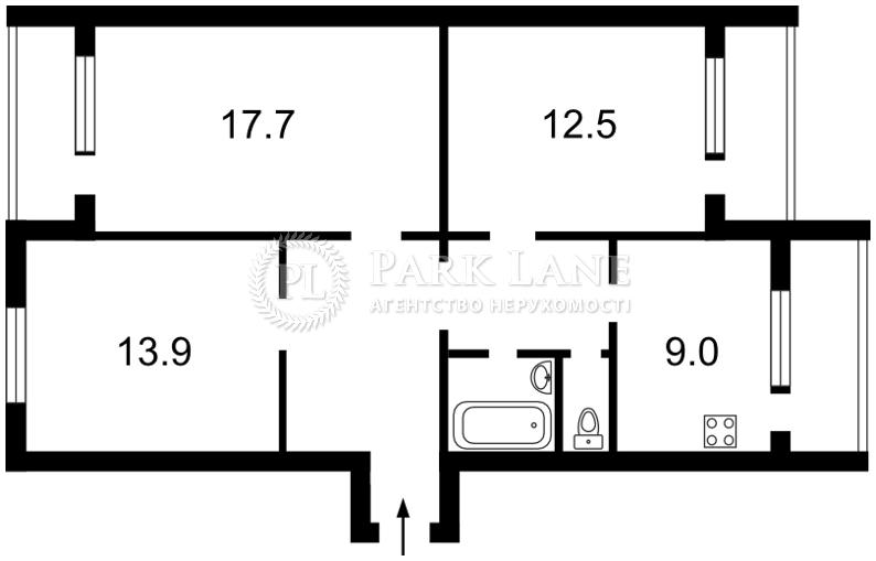 Квартира ул. Радужная, 35, Киев, X-17649 - Фото 2