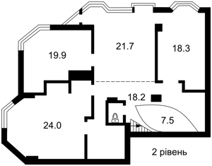 Квартира B-91484, Кловский спуск, 5, Киев - Фото 4