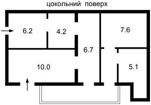 Готель, Z-1828474, Семенівка (Баришевський) - Фото 3