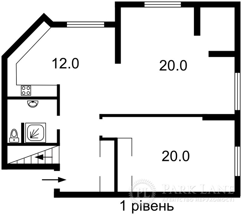 Квартира Героев Сталинграда просп., 6а, Киев, N-16146 - Фото 2