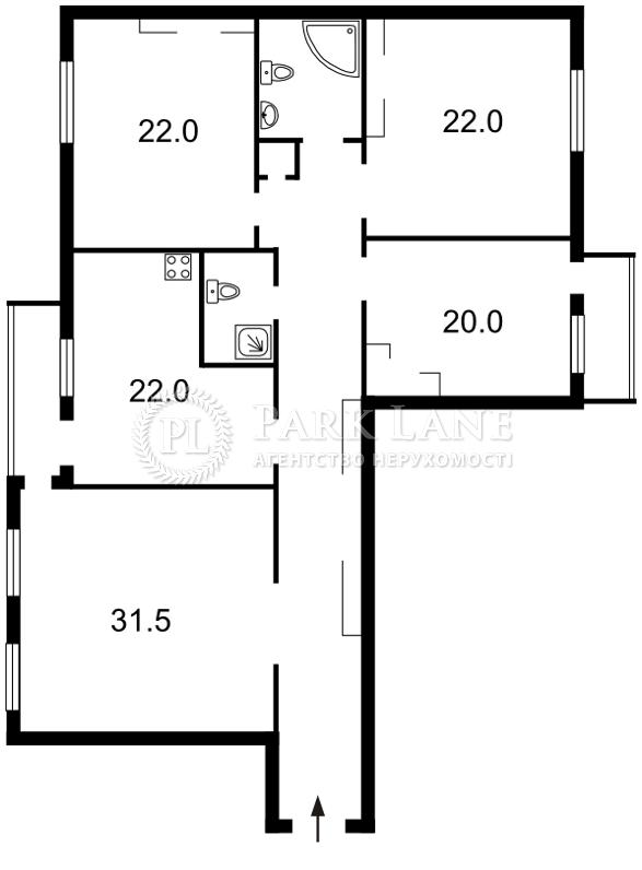 Квартира Героев Сталинграда просп., 8 корпус 4, Киев, X-23932 - Фото 2