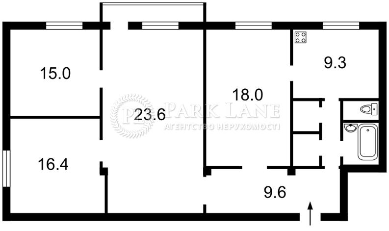 Квартира ул. Крещатик, 25, Киев, N-14756 - Фото 2