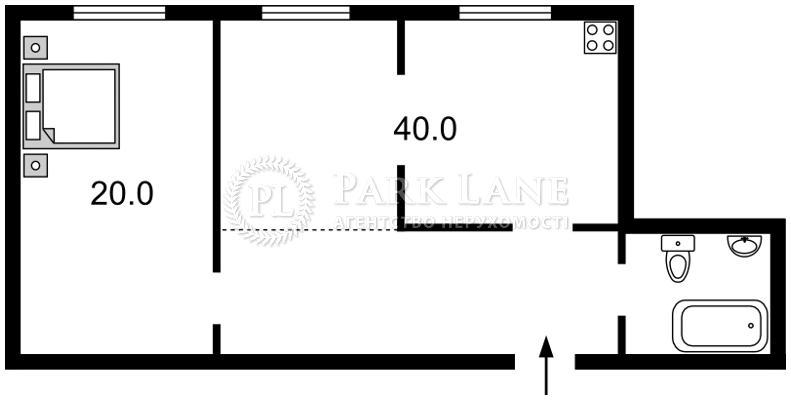 Квартира Науки просп., 30, Київ, N-8037 - Фото 2