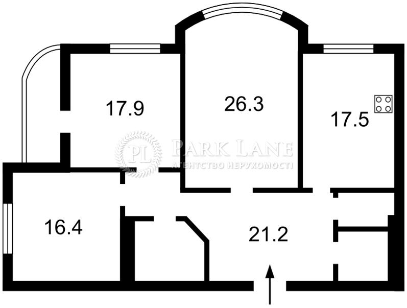 Квартира ул. Нежинская, 5, Киев, F-15622 - Фото 2