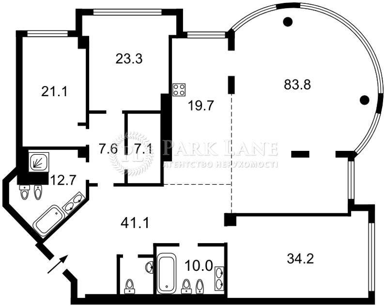 Квартира L-22954, Мазепи Івана (Січневого Повстання), 11б, Київ - Фото 4