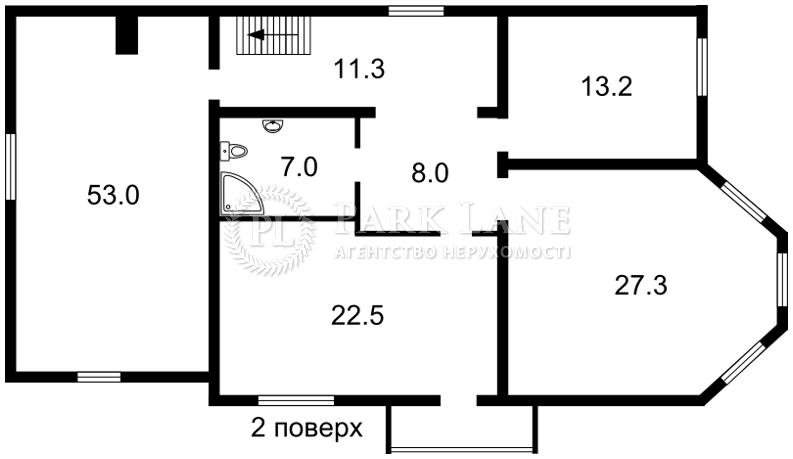 Дом Z-1524911, Вишневая, Буча (город) - Фото 2