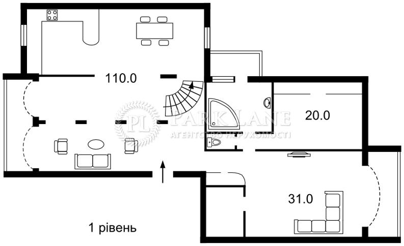 Квартира ул. Никольско-Слободская, 6а, Киев, K-22170 - Фото 2