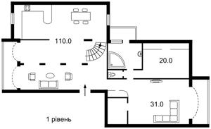 Квартира K-22170, Никольско-Слободская, 6а, Киев - Фото 5