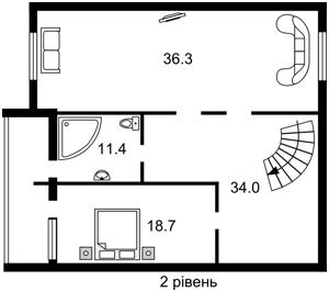 Квартира K-22170, Никольско-Слободская, 6а, Киев - Фото 6
