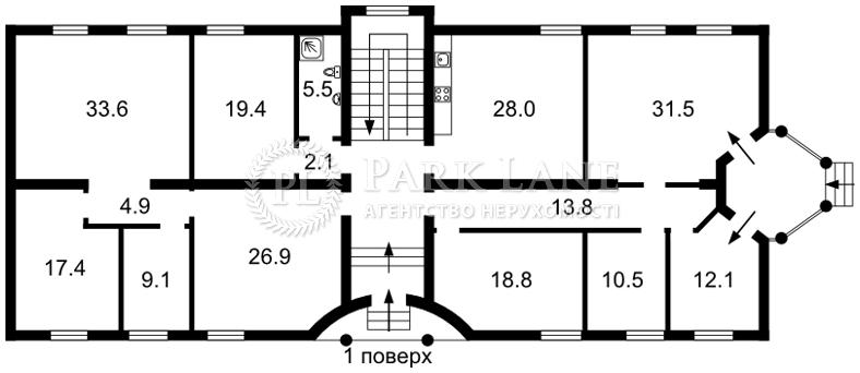 Офис, ул. Каменяров, Киев, Z-597534 - Фото 3