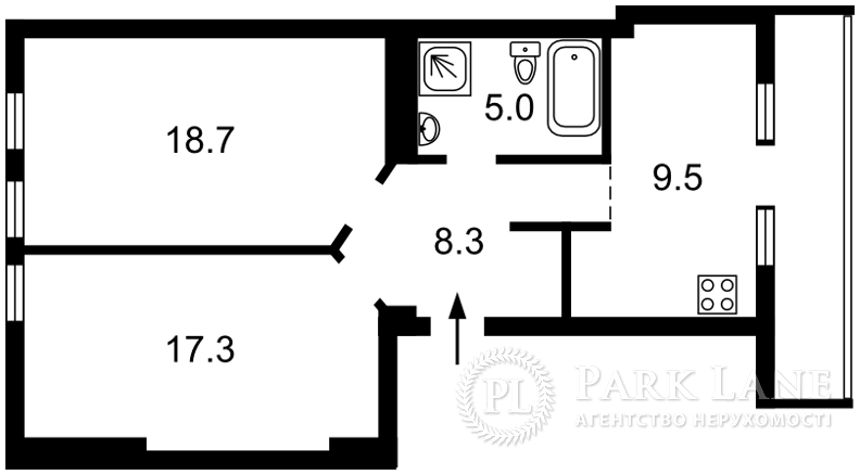 Квартира ул. Мазепы Ивана (Январского Восстания), 14, Киев, A-54956 - Фото 2