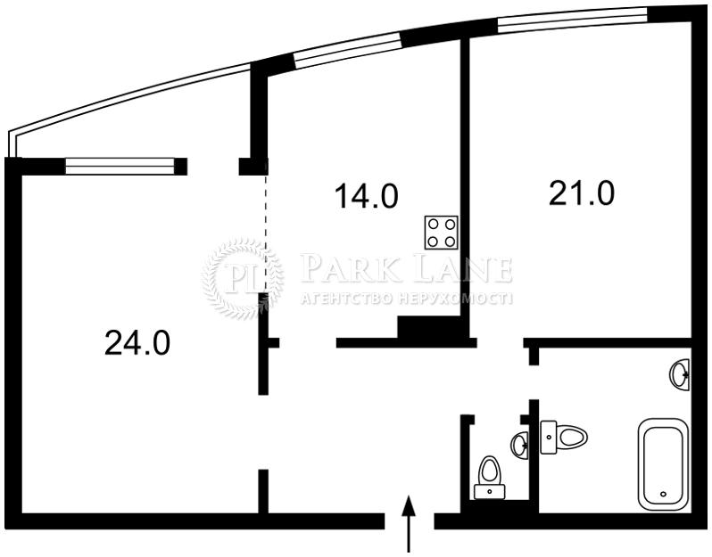 Квартира Голосіївський проспект (40-річчя Жовтня просп.), 68, Київ, X-21401 - Фото 2