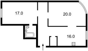Квартира Z-1537341, Героев Сталинграда просп., 2д, Киев - Фото 6