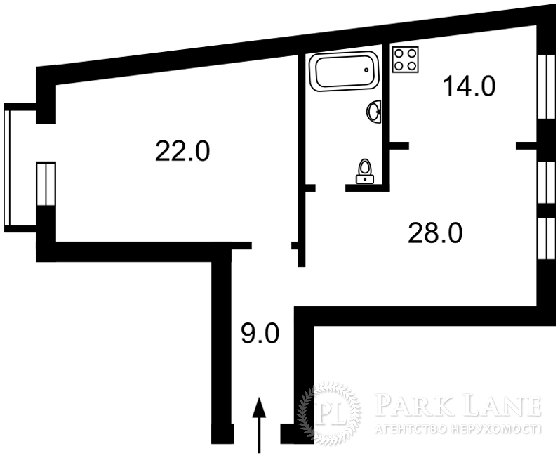 Квартира ул. Сечевых Стрельцов (Артема), 31, Киев, Z-1383574 - Фото 2