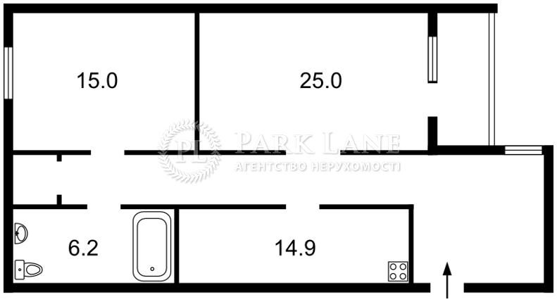 Квартира вул. М.Житомирська, 5, Київ, D-18498 - Фото 2
