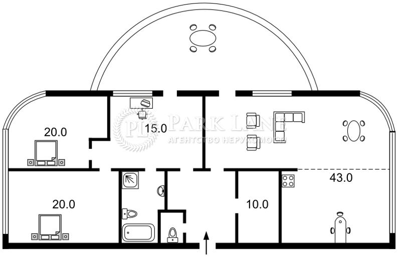 Квартира ул. Зверинецкая, 59, Киев, Z-1755864 - Фото 2