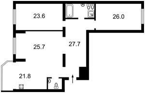 Квартира Z-1719677, Черновола Вячеслава, 20, Киев - Фото 4