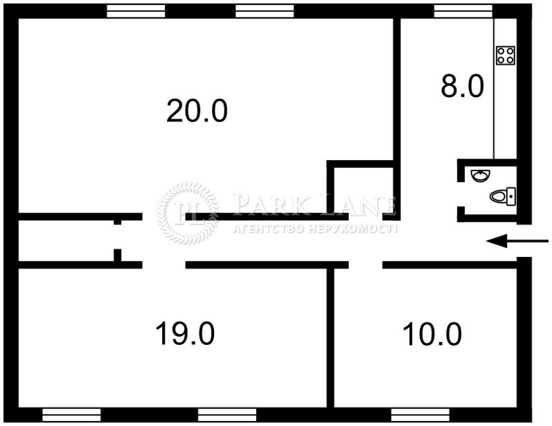 Квартира ул. Хмельницкого Богдана, 86, Киев, Z-1795382 - Фото 2