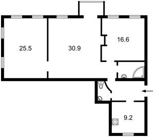 Квартира Z-1795384, Хмельницкого Богдана, 35/1, Киев - Фото 4