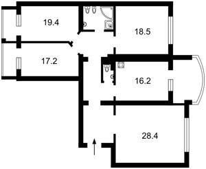 Квартира D-30665, Героев Сталинграда просп., 4 корпус 4, Киев - Фото 3