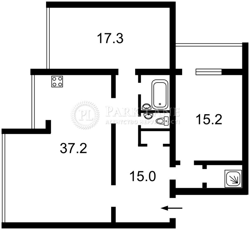 Квартира ул. Старонаводницкая, 8а, Киев, K-22729 - Фото 2