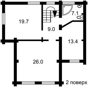 Будинок Z-114212, Київська, Гореничі - Фото 3