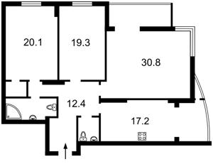 Квартира K-22553, Лобановского просп. (Краснозвездный просп.), 4в, Киев - Фото 2