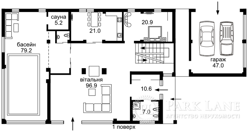 Дом Малютянка, N-14272 - Фото 3