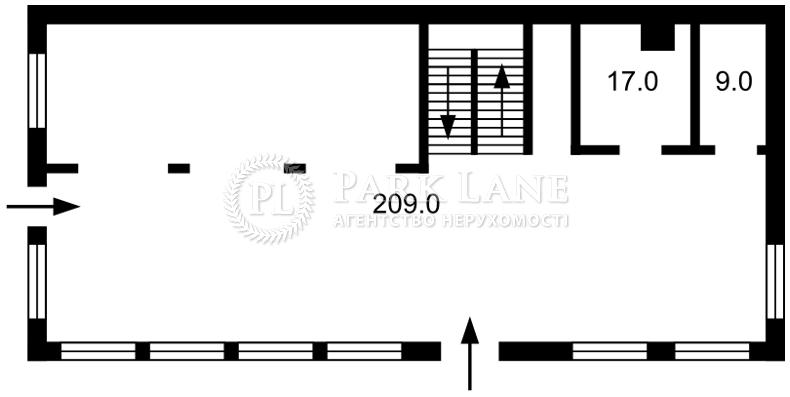 Нежилое помещение, Z-1581931, Изяславский пер. (Ватутина пер.), Киев - Фото 1