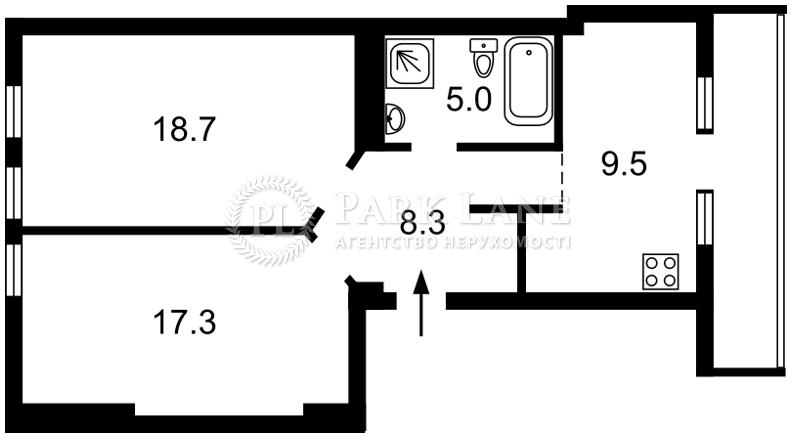 Квартира ул. Мазепы Ивана (Январского Восстания), 14, Киев, B-71746 - Фото 2