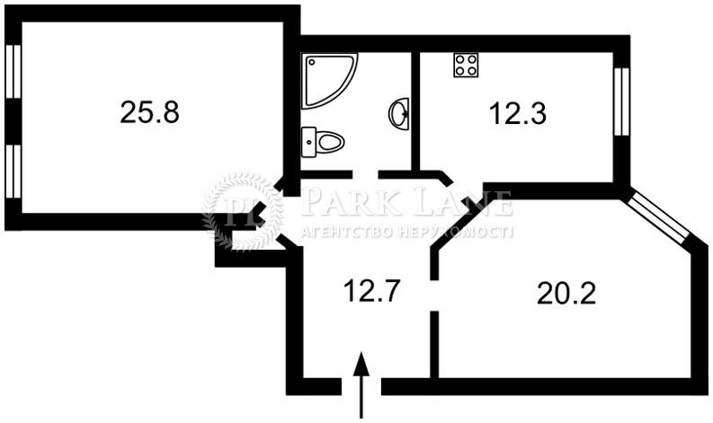 Квартира ул. Лютеранская, 4, Киев, B-92533 - Фото 2