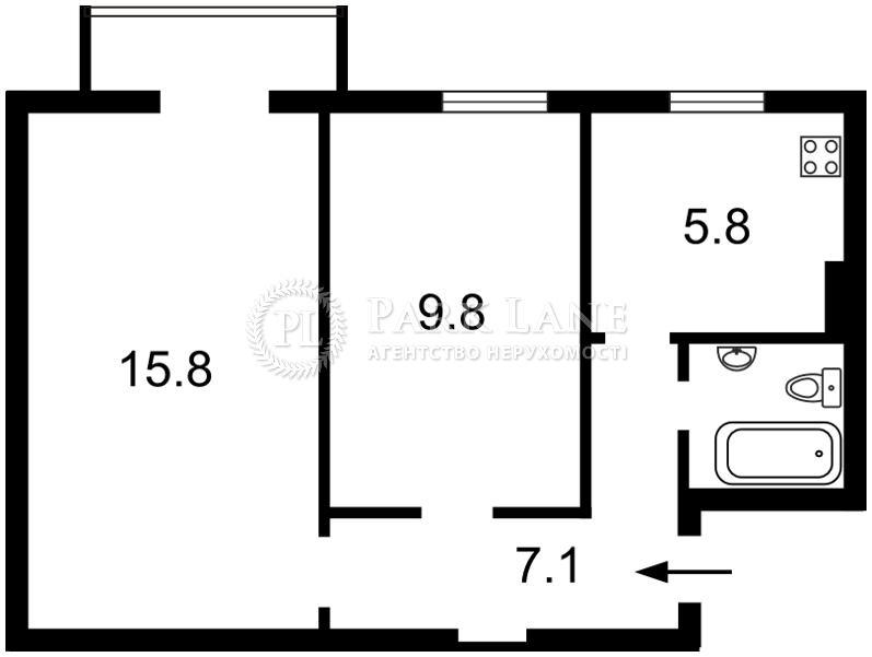 Квартира ул. Пугачева, 6/29, Киев, N-11064 - Фото 2